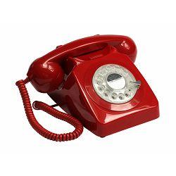Telefon GPO RETRO 746 ROTARY crveni