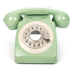 Telefon GPO RETRO 746 ROTARY zeleni