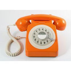 Telefon GPO RETRO 746 ROTARY narančasti