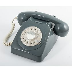 Telefon GPO RETRO 746 ROTARY sivi
