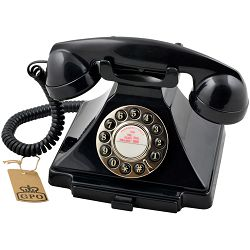 Telefon GPO RETRO CARRINGTON crni