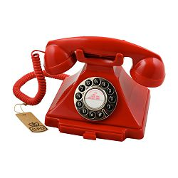 Telefon GPO RETRO CARRINGTON crveni
