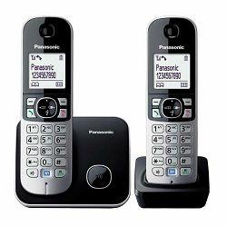 Telefon PANASONIC KX-TG6812FXB