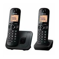 Telefon PANASONIC KX-TGC212FXB crni