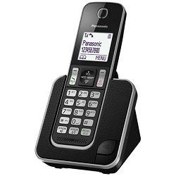 Telefon PANASONIC KX-TGD310FXB crni