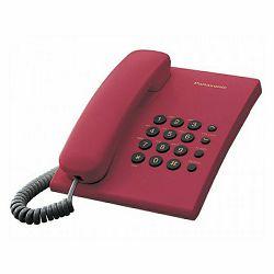 Telefon PANASONIC KX-TS500FXR crveni