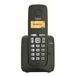 Telefon SIEMENS GIGASET A120 crni