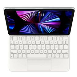 Tipkovnica APPLE Magic Keyboard for iPad Pro 11-inch (3rd) and iPad Air (4th) - International English - White, mjqj3z/a