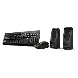 Tipkovnica + miš+ zvučnik GENIUS KB-U130