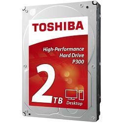 Hard disk TOSHIBA HDD P300 2TB, 64MB, 7200rpm