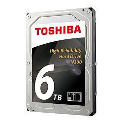 Hard disk TOSHIBA N300 6TB, 128MB, 7200rpm, NAS