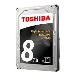 Hard disk HDD TOSHIBA N300 8TB, 128MB, 7200rpm, NAS