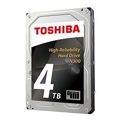Hard disk HDD TOSHIBA N300 4TB, 128MB, 7200rpm, NAS