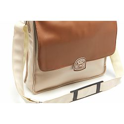 Torba za gramofonske ploče GPO RETRO RECORD BAG cream tan
