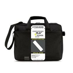 Torba za laptop TUCANO do 16 + POWERBANK 1800 mAh