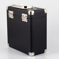 Torba za vinilne ploče GPO RETRO VINYL CASE 7 crna