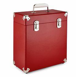Torba za vinilne ploče GPO RETRO VINYL CASE 7 crvena