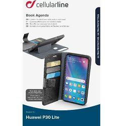 Torbica za mobitel CELLULARLINE za HUAWEI P30 LITE agenda crna
