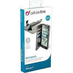 Torbica za mobitel CELLULARLINE za iPHONE 7/8 crni agenda
