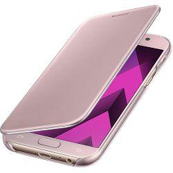 Torbica za mobitel SAMSUNG GALAXY A5 2017 Clear view cover roza