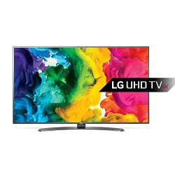 TV LG 49UH661V (LED, 4K, UHD, Smart TV, DVB-S2/T2, PMI 1200, 124 cm)