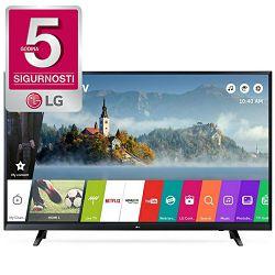 TV LG 49UJ620V (LED, 4K, UHD, SMART TV, DVB-S2/T2, PMI 1500, Active HDR, 124 cm)