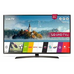 TV LG 49UJ634V (LED, UHD, SMART TV, PMI 1600, DVB-T2/C/S2, 124 cm)