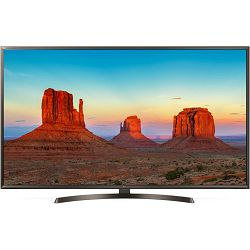 TV LG 49UK6400PLF (LED, UHD, PMI 1600 Hz, Smart TV, HDR10 Pro, DVB-S2/T2, 124 cm)