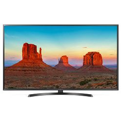 TV LG 49UK6470PLC (LED, UHD, PMI 1600 Hz, Smart TV, HDR10 Pro, DVB-S2/T2, 124 cm)