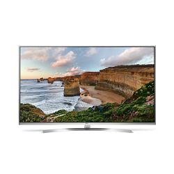TV LG 49UH8507 (LED, 4K, UHD, 3D, Smart TV, DVB-S2/T2, PMI 2700, 124 cm)