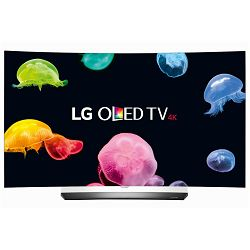 TV LG OLED55C6V (OLED, Curved, 3D, 4K, UHD, Smart TV, DVB-T2/S2, 140 cm)