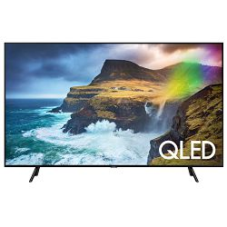 TV SAMSUNG QE55Q70RATXXH (QLED, UHD, Smart TV, PQI 3300, Q HDR 1000, 140 cm) + poklon slušalice AKG Y500  + poklon bežična tipkovnica LOGITECH K400+