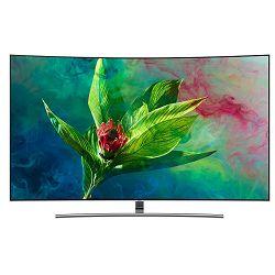 TV SAMSUNG QE55Q8CNATXXH (QLED, Curved, Smart TV, UHD,  PQI 3300, Q HDR 1500, DVB T2/C/S2, 140cm, 5 godina jamstva)