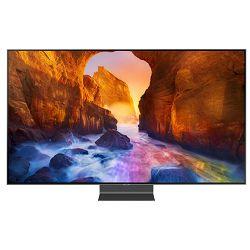 TV SAMSUNG QE55Q90RATXXH (QLED, UHD, Smart TV, PQI 4000, Q HDR 2000, 140 cm) + poklon sat SAMSUNG GALAXY WATCH ACTIVE + poklon bežična tipkovnica LOGITECH K400+