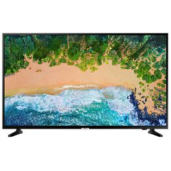 TV SAMSUNG UE55NU7092UXXH (LED, UHD, Smart TV, PQI 1300, HDR 10+, DVB-T2CS2, 140 cm) + poklon bežična tipkovnica LOGITECH K400+