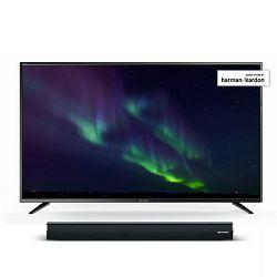 TV SHARP LC-55CUG8052E (LED,UHD, SMART TV, DVB-T2/S2/C, Active Motion 400 Hz, 140 cm, 5 godina sigurnosti) + poklon soundbar SHARP HT-SB106
