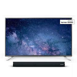 TV SHARP LC-55CUG8062E (LED,UHD, SMART TV, Active Motion 400 Hz, 140 cm, 5 godina sigurnosti) + poklon soundbar SHARP HT-SB106