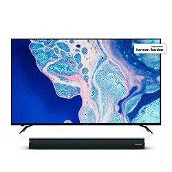 TV SHARP LC-70UI9362E (LED, UHD, Smart TV, h/k, HDR, 177 cm) + poklon soundbar HT-SB150