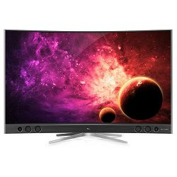 TV TCL U65S9906 X1 (QLED, 4K, QUHD, zakrivljen, Android TV, DVB-T2/C/S2, PPI 2600, 165cm)