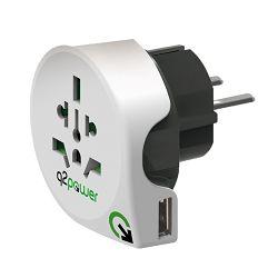 Univerzalni adapter Q2 POWER EU USB