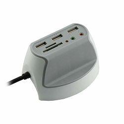 USB HUB SBOX DH-1 USB 2.0 X 3 + 3,5MM X 2