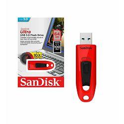 USB memorija SANDISK 64GB ULTRA USB 3.0 crvena