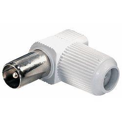 Utikač za koaksijalni kabel FS18W muški kutni