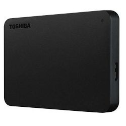 Vanjski tvrdi disk HDD TOSHIBA CANVIO Basics 4TB,USB 3.0 crni