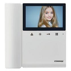 Video interfon COMMAX CDV-43K2 bijeli,  LCD monitor u boji 4,3''