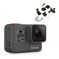 Video kamera GoPro HERO5 Black + poklon set nosača GT-141