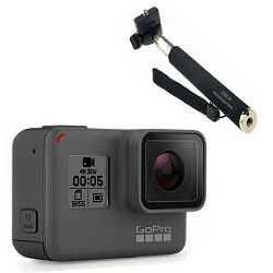 Video kamera GoPro HERO5 Black  + poklon štap GT-55