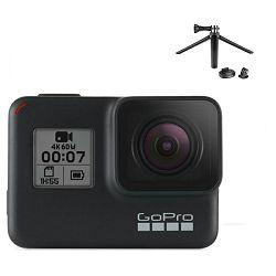 Video kamera GoPro HERO7 Black + poklon TRIPOD MOUNTS 2