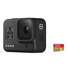 Video kamera GoPro HERO8 black + SD card 32GB