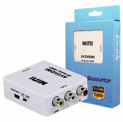 Video konverter CVBS+audio na HDMI MKC MKH-E-26